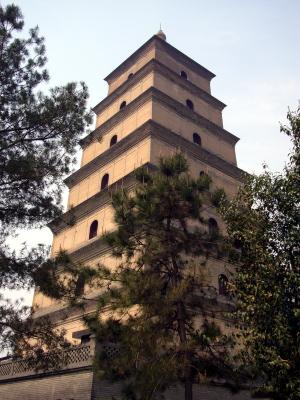 The Big Wild Goose Pagoda, Xi'an