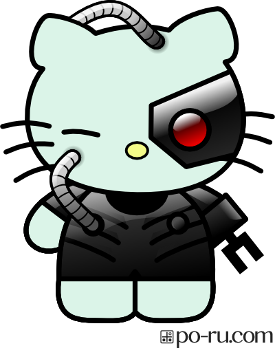 Hello Kitty as a Borg