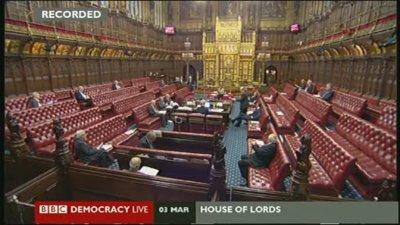Digital Economy Bill debate in House of Lords