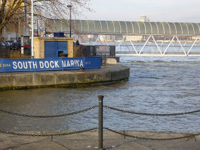 River Thames high water level