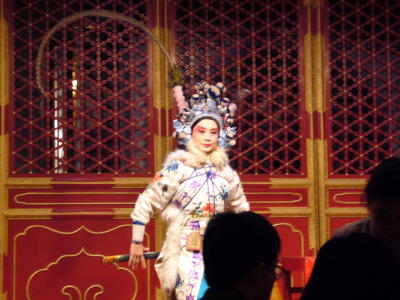 Peking opera at the Laoshe Teahouse